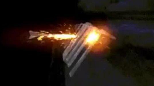 სქემატური ვიდეო თუ როგორ მოქმედებს სხვადასხვა სახის ჭურვი ტანკის ჯავშანზე