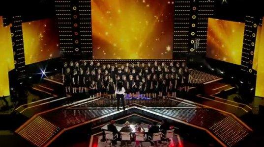 """გორის გოგონათა გუნდი სიმღერით """"ლხინი სოფლად"""" -ეს შესრულება ნამდვილად გაგაოცებთ"""