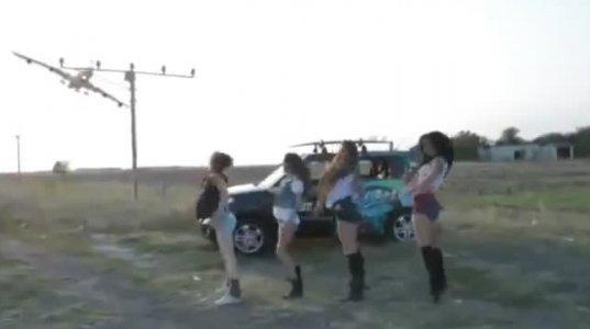 """მოცეკვავე გოგოებს ბოლო,  უმგზავრო რეისზე მიმავალი თვითმფრინავის პილოტებმა """"გაუჩალიჩეს"""""""