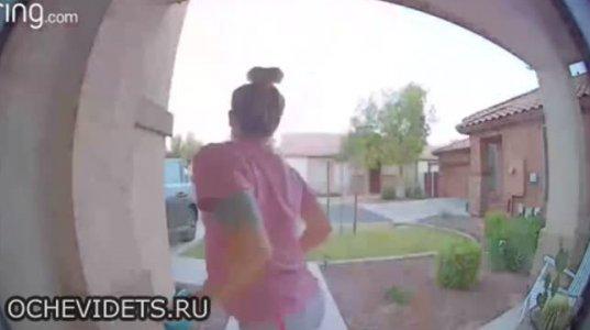 გონებადაფანტულმა გოგომ მანქანა სახლს დააჯახა და სახლში შევარდა ტირილით