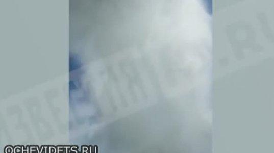 სწავლებისას სახანძრო თვითმფრინავის პილოტებს შეეშალათ და ტონობით წყალი საგზაო პოლიციას დაასხეს