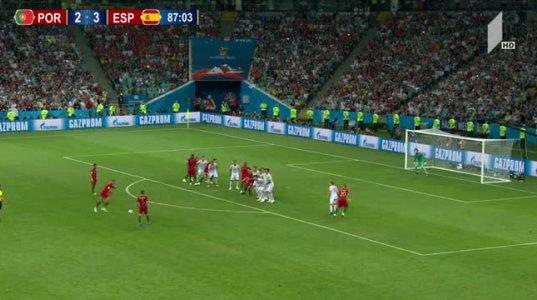 პორტუგალია 3:3 ესპანეთი - საუკეთესო მომენტები