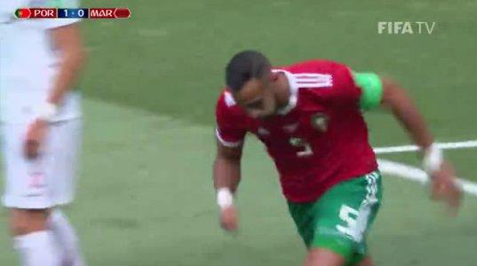 პორტუგალია-მაროკო-1:0 მსოფლიო ჩემპიონატი 2018