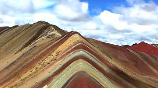 თვალისმომჭრელი  სილამაზე–ცისარტყელას მთები  პერუში