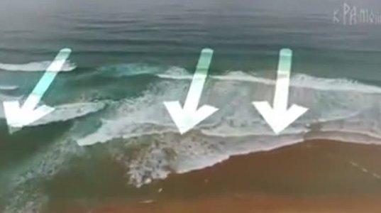 ვიდეო თუ რა საფრთხე შეუძლია მოცურავეს შეუქმნას წყლისქვეშა დინებამ და გამოსავალი საფრთხიდან