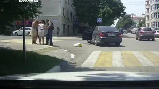 გოგოების ჩხუბი ქუჩაში