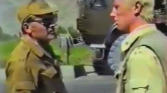 """არმიის სარდლის მოადგილემ უზრუნველყოფის საკითხებში ნახეთ რა უყო """"დემბილებს"""" და ოფიცერს"""