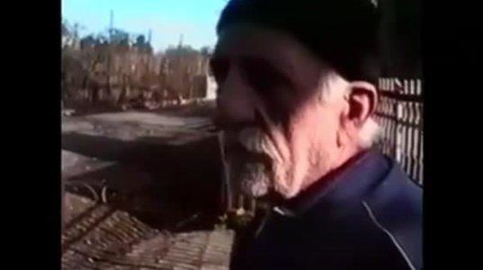 აფხაზი მამაკაცი თავისუფლად საუბრობს მეგრულად და ქართულად, აფხაზეთის ომის პერიოდში