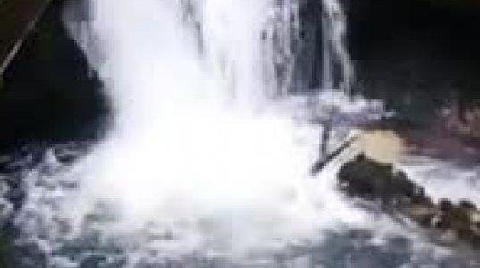 ინწრას ულამაზესი ჩანჩქერი წალენჯიხის მუნიციპალიტეტში