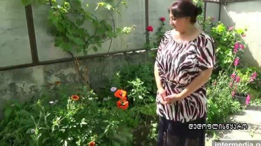 ფლორისტ თამილა ლობჯანიძის ყვავილები დედოფლისწყაროდან (ვიდეო)