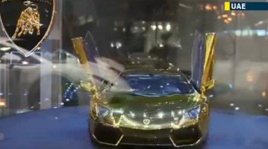ოქროს და ბრილიანტისთვლებიანი, ყველაზე ძვირფასი ლამბორჯინი მსოფლიოში დუბაიშია
