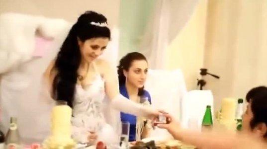 უმდიდრესი ქორწილი სომხეთში (ვიდეო)
