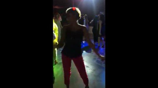 როგორ ცეკვავს ფეხმძიმე მარიამ სანოგო - ვიდეოს მოდელის მეუღლე აქვეყნებს