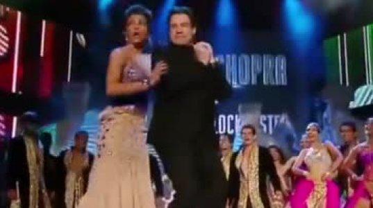 ბოლივუდის ვარსკვლავი მსახიობი ქალის და ჯონ ტრავოლტას საოცარი ცეკვა