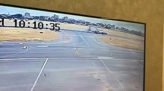 სუდანში,ხარტუმის აეროპორტში ორი თვითმფინრავი ერთმანეთს დაეჯახა