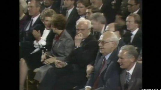 რეიგანი, გორბაჩოვი და შევარდნაძე - 1987 წლის ექსკლუზიური კადრები