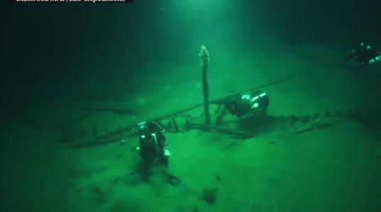 სენსაცია! შავი ზღვის ფსკერზე მსოფლიო ისტორიაში ყველაზე ძველი გემი აღმოაჩინეს
