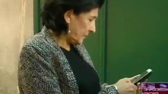 სალომე ზურაბიშვილმა ჟურნალისტებს ზურგი შეაქცია და შედეგების შეფასება არ ისურვა (ვიდეო)