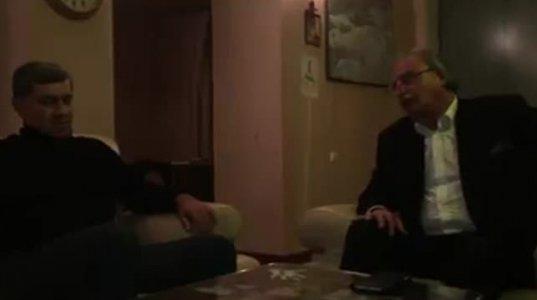 """""""მინდა ჩემი შვილები უკეთეს საქართველოში გაიზარდონ! """" - გრიგოლ ვაშაძე ირაკლი ოქრუაშვილს შეხვდა"""