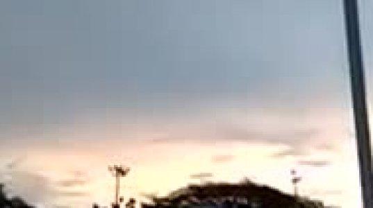 მალაიზიაში ციდან უცნაური არამიწიერი  ხმები ისმოდა