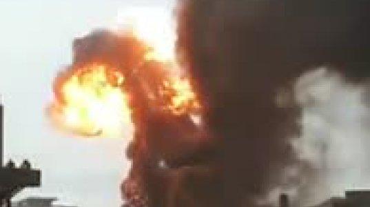 ინტერნეტში გამოჩნდა ლიონის უნივერსიტეტის აფეთქების ამსახველი ვიდეოკადრები