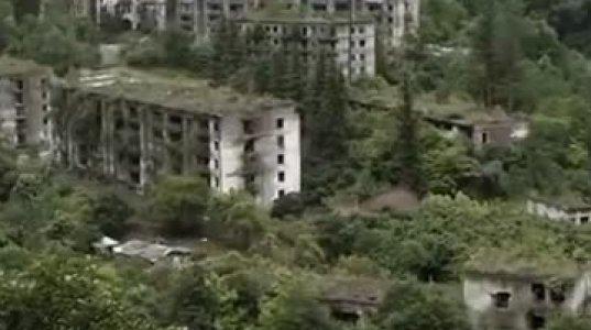 აპოკალიფსი აფხაზეთში - მკვდარი ქალაქი - დრონის ვიდეოკადრები