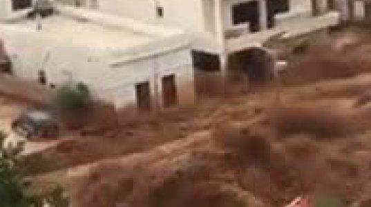 წარმოუდგენელი სტიქია ისრაელის სოფელ სახნინში (ვიდეო)