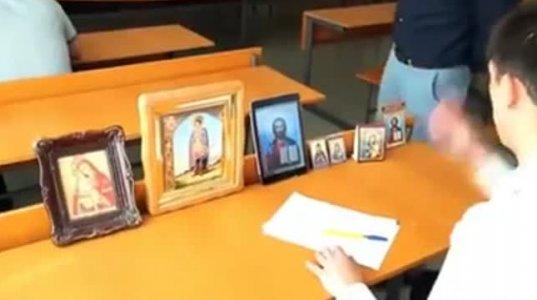 მოხერხებული მოსწავლე გამოცდაზე (ვიდეო)