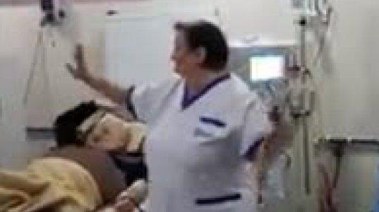 ბათუმის დიალიზის ცენტრში ექიმებიც და პაციენტებიც მხიარულობენ (ვიდეო)