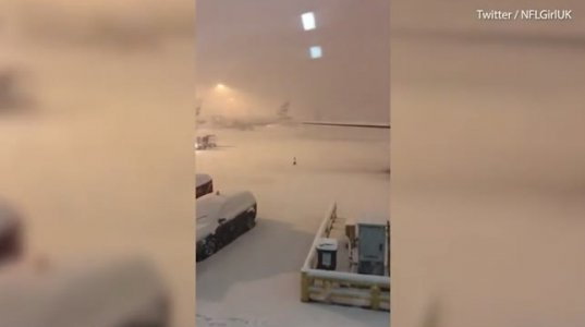 რა ხდება ამ წუთებში მანჩესტერის აეროპორტში?