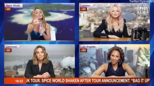 ძალიან სასაცილო ამერიკელი ჟურნალისტები კადრს მიღმა