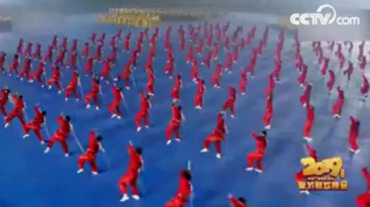 საოცარი სანახაობა იაპონიაში - უშუს სპორტსმენების ოსტატური შესრულებით (ვიდეო)