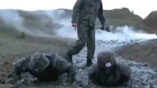 წარმოუდგენლად სახალისო ვიდეო - ქართული სამხედრო წვრთნებიდან