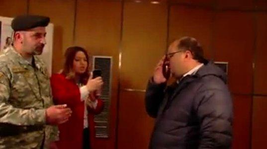 შალვა რამიშვილი ლიეჟში მიშა სააკაშვილთან შეხვედრაზე არ შეუშვეს (ვიდეო)
