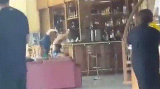 ნანუკა ჟორჟოლიანს შამპანიური შეასხეს (ვიდეო)