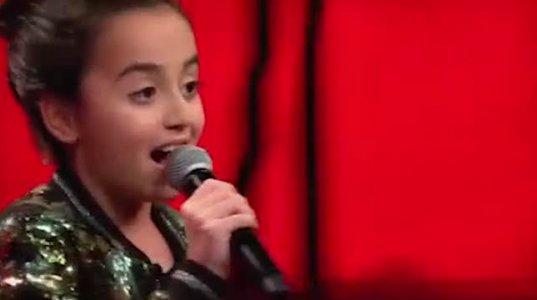 """10 წლის ქართველმა გოგონამ გერმანული """"ვოისის"""" ჟიურის ყველა წევრი შემოაბრუნა"""