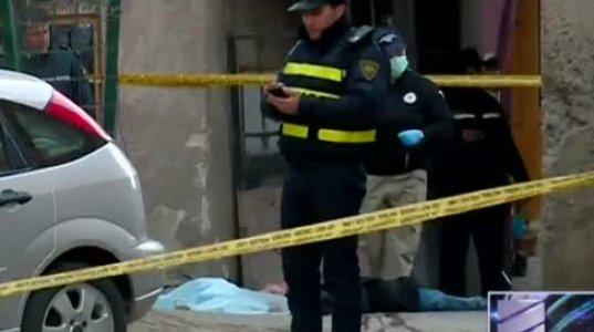 თბილისში, ვერცხლის ქუჩაზე 40 წლამდე მამაკაცი მოკლეს