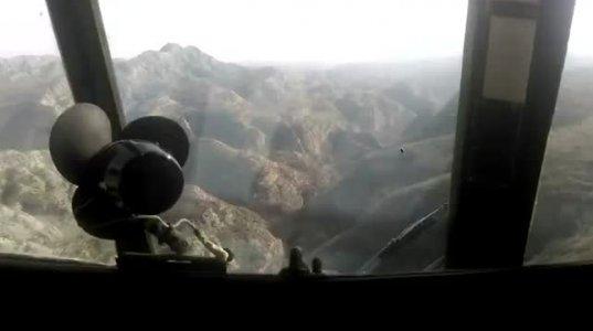დედოფლისწყარო - კადრები ვერტმფრენიდან (ვიდეო)