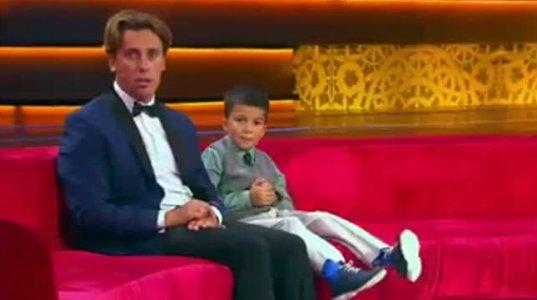 პატარა,  ქართველი გენიოსი ბავშვი რუსულ შოუში