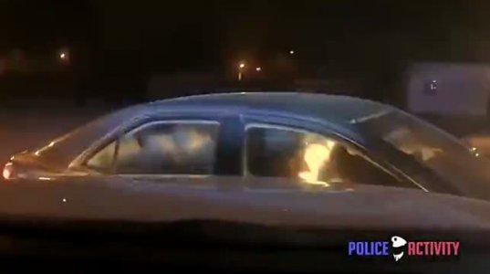 ორი ეჭვმიტანილი პოლიციას გაურბის და საინტერესოა სადამდე გაგრძელდება ეს დევნა