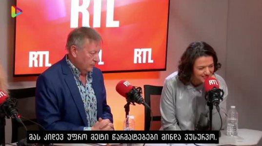 სალომე ზურაბიშვილმა ხატია ბუნიათიშვილს თბილისიდან, ფრანგული რადიოს პირდაპირ ეთერში დაურეკა