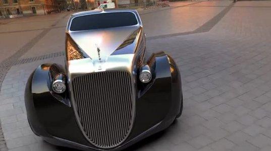 Rolls-Royce Jonckheere II Aerodynamic Coupe