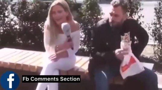 """იმედია სიცილის გამო არ """"ჩაისველებთ"""" ამ ვიდეოს ნახვისას"""