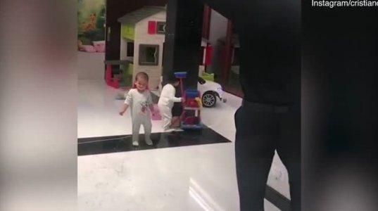 რონალდუს ამ ვიდეოს 10 მილიონი ნახვა აქვს ინსტაგრამზე