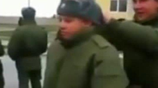 უაზრო გართობისას რუს სამხედროებს ახალწვეული სამხედრო შემოაკვდათ