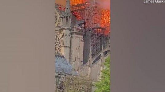 ტურისტის მიერ გადაღებული ვიდეო კადრები პარიზიდან