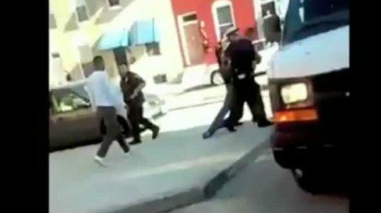 პოლიციამ შეიარაღებული თავდამსხმელი ფაქტზე აიყვანა
