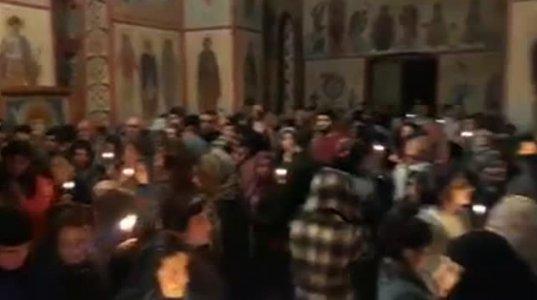 მრავალჟამიერის საოცარი შესრულება აღდგომის ღამეს ისტორიულ ჰერეთში (ვიდეო)