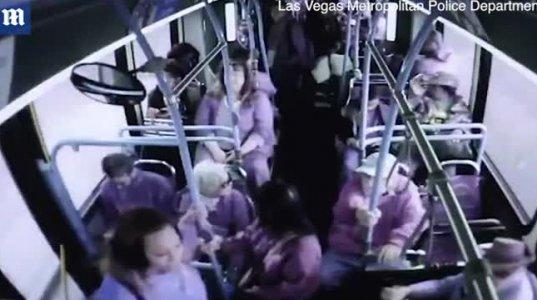 ეს უსინდისო ქალი ნახეთ როგორ გადმოაგდო ავტობუსიდან მოხუცი კაცი