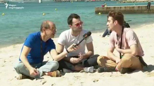 """გოგი გვახარიას ინტერვიუ გეი ფილმის """"და ჩვენ ვიცეკვეთ"""" მსახიობებთან (ვიდეო)"""